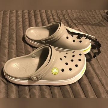 Crocs Crocband (C12/c13) rozm. 29/31 szare