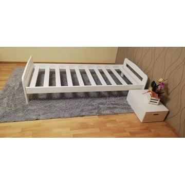 łóżko sosnowe 80 dla dziecka dziecięce białe 90