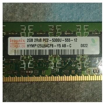 Hynix 2GB PC2-5300U-555-12