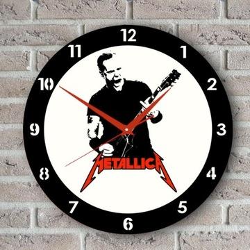 Metallica_ Zegar Ścienny