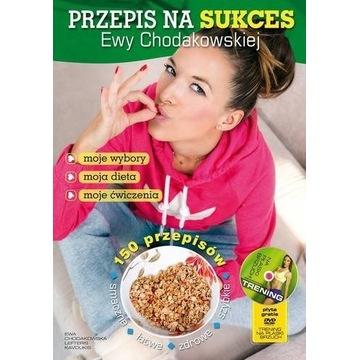 Ewa Chodakowska - przepis na sukces KSIĄŻKA+PŁYTA