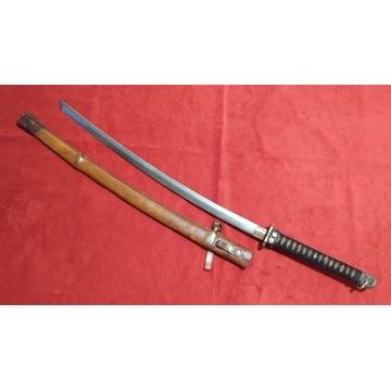 Miecz japoński, samurajski. Katana. Oryginał.