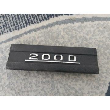 Emblemat zaślepka mercedes benz 200D