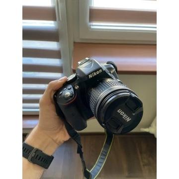 Nikon D5300 + 18-55mm z torba, karta i filtrem