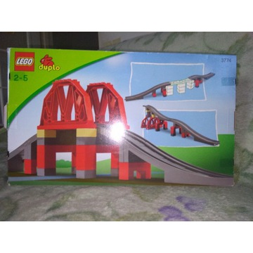 Lego Duplo 3774 most do zestawu 5608 i 5609