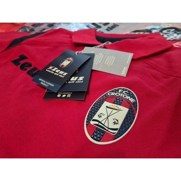 Koszulka Polo FC Crotone nowa oryginalna Zeus