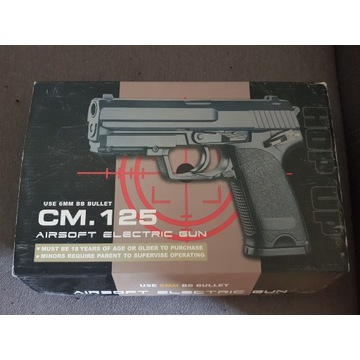 Replika pistoletu Cyma CM.125 AEP lipo