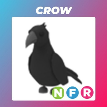 Roblox Adopt Me Neon Crow FR