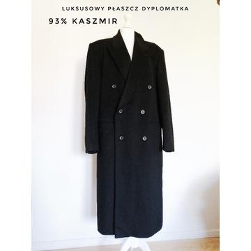 Luksusowy kaszmirowy płaszcz