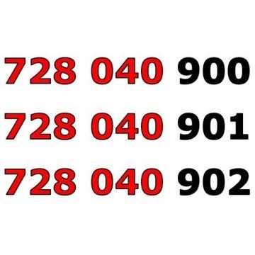 728 040 90x ŁATWY ZŁOTY NUMER STARTER x 3