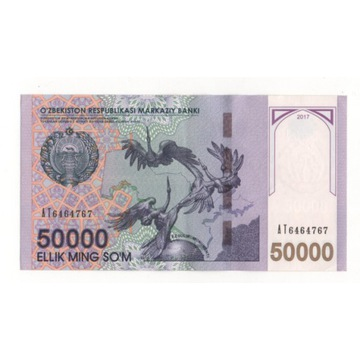 Uzbekistan 50 000 som