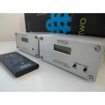 M2Tech Evo Two  + Evo Clock Two  zegar i konwerter