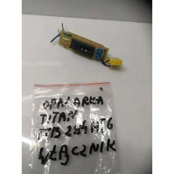 Opalarka Titan TTB284HTG - włącznik