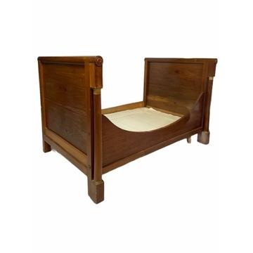 Przepiekne ORYGINALNE łóżko EMPIRE Francja XIX w.