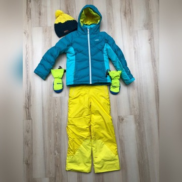 Zestaw narciarski/zimowy kurtka, spodnie, inne, 8L