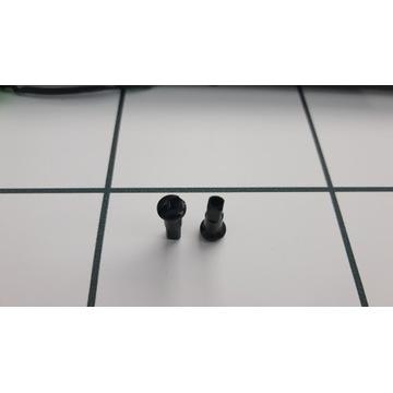 Nypel szprych czarny 15mm 2.0 chyba Swiss 2szt.