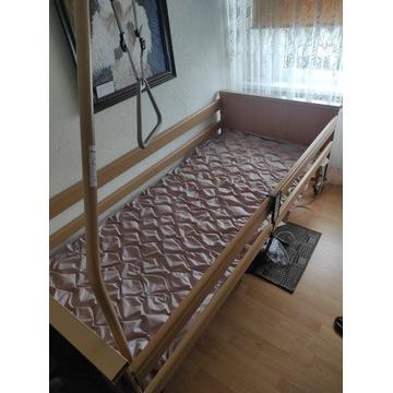 łóżko rehabilitacyjne 200x90 + materac na odleżyny