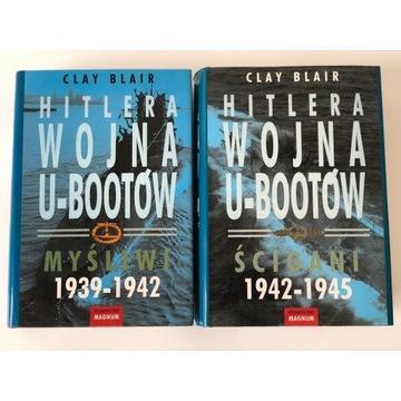 Clay Blair - Hitlera wojna u-bootów -199zł-