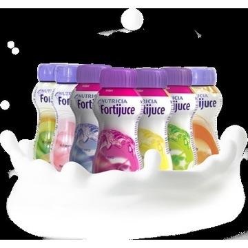 50szt Nutricia FORTIJUCE NutriDrink Juice Style