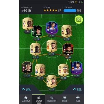 FIFA 22 PC + skład