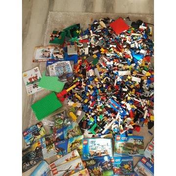 Mega zestaw klocków Lego + 40 instrukcji!