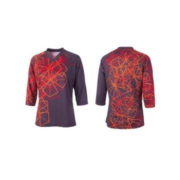 Damska koszulka Jersey AM 3/4 GHOST MTB rozmiar S