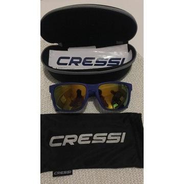 CRESSI Blaze okulary sportowe nowe niebieskie