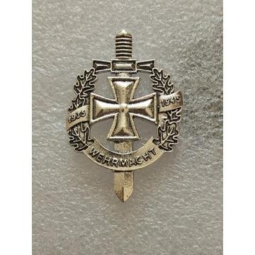 WW2 Niemiecka Odznaka Wermacht 1935-1945, typ 1