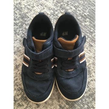 Granatowe buty chłopięce H&M r. 27 jesień wiosna