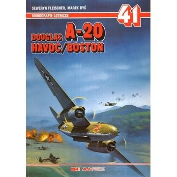 DOUGLAS A-20 HAVOC/BOSTON - Monografie Lotnicze 41