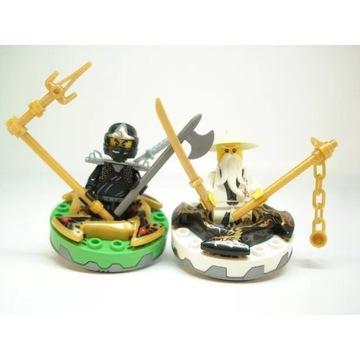 Klocki spinner Ninjago figurka Lloyd Jay spiner