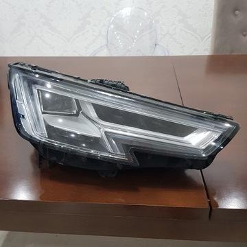 Lampa prawy przód Audi A4 B9 uszkodzona