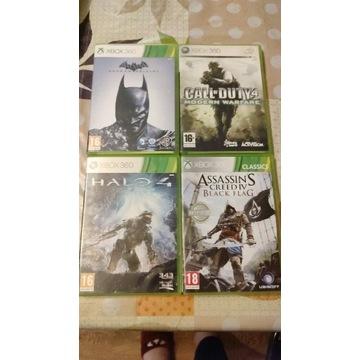 GRY Xbox 360!!! Zestaw! 4 gry