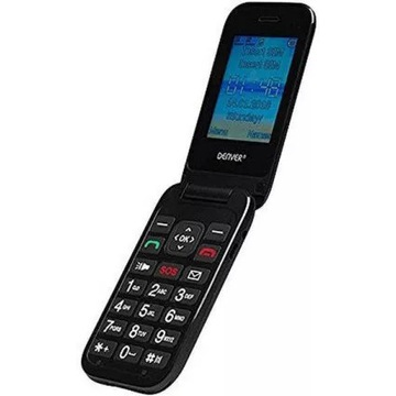 Telefon dla seniorow Denver BAS-24200M Czarny