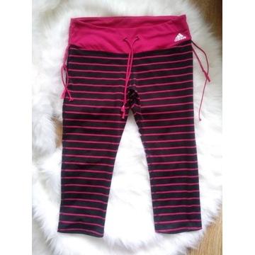Legginsy spodnie dresowe fitness Adidas