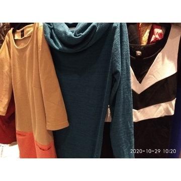 20kg kolorowych sukienek jesień zima