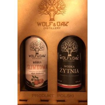 Wolf&Oak zestaw prezentowy w skrzynce