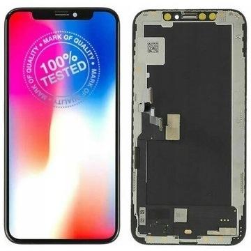 iPhone XS Wyświetlacz LCD Ekran Dotyk Szyba INCEL