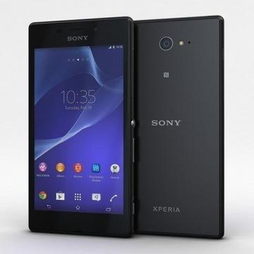Smartfon nowy SONY XPERIA M2 D2303 8GB BLACK