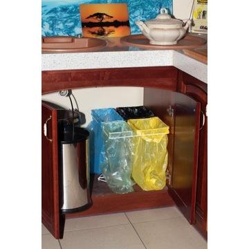 Stojak do segregacji śmieci pod zlewem