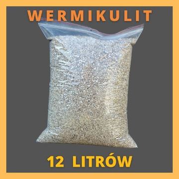 Wermikulit średni 12 litrów do ukorzeniania