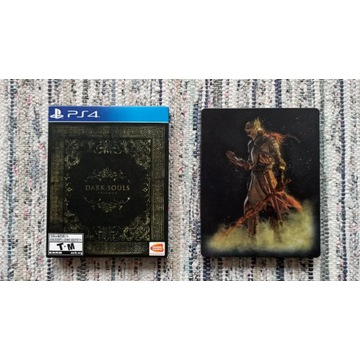 PS4 KOLEKCJA Dark Souls Trilogy Steelbook UNIKAT