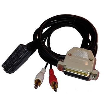 Kabel/przewód AMIGA 1,5m EURO/SCART Video RGB
