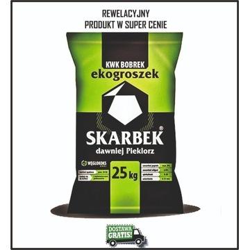 Ekogroszek SKARBEK 28 MJ/kg - DOSTAWA GRATIS!!!