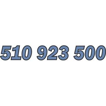 510 923 500 ZŁOTY NUMER STARTER ORANGE