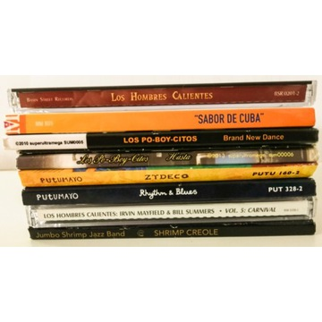 New Orlean's jazz & blues - cd mix