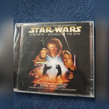 Star Wars Zemsta Sithów Soundtrack CD+DVD
