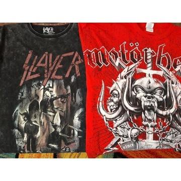Koszulka Slayer i Motorhead - duże z Merch