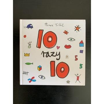"HIT książka ""10 razy 10"" Herve Tullet BABARYBA"
