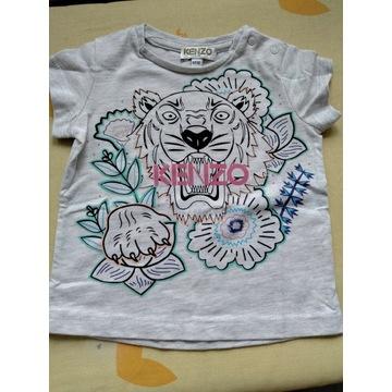 Koszulka bawełniana Kenzo rozmiar 68